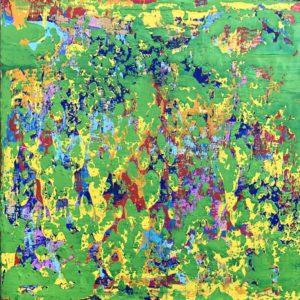 Green Square 1 von Philippe Bordonnet