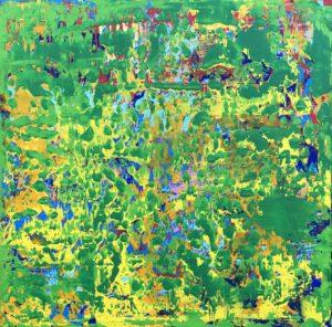 Green Square 2 von Philippe Bordonnet