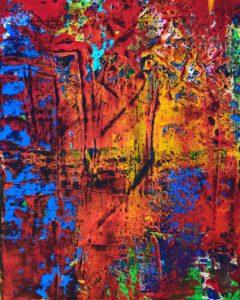 Paysage Multicolore 1 von Philippe Bordonnet