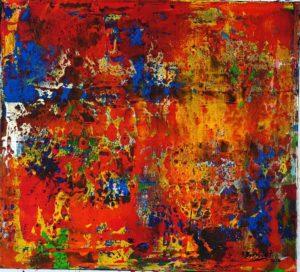 Paysage Multicolore 2 von Philippe Bordonnet