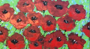 Poppies field von Philippe Bordonnet