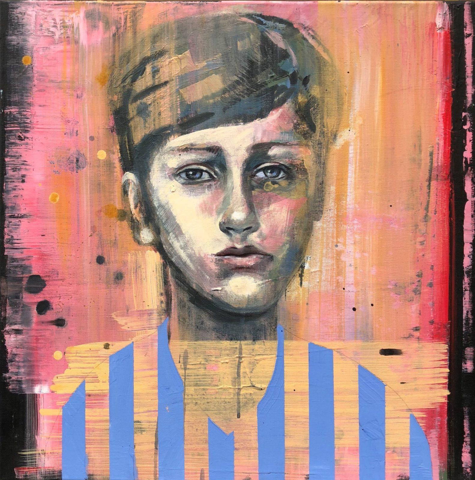 Portrait of a boy von Beate Fahrländer