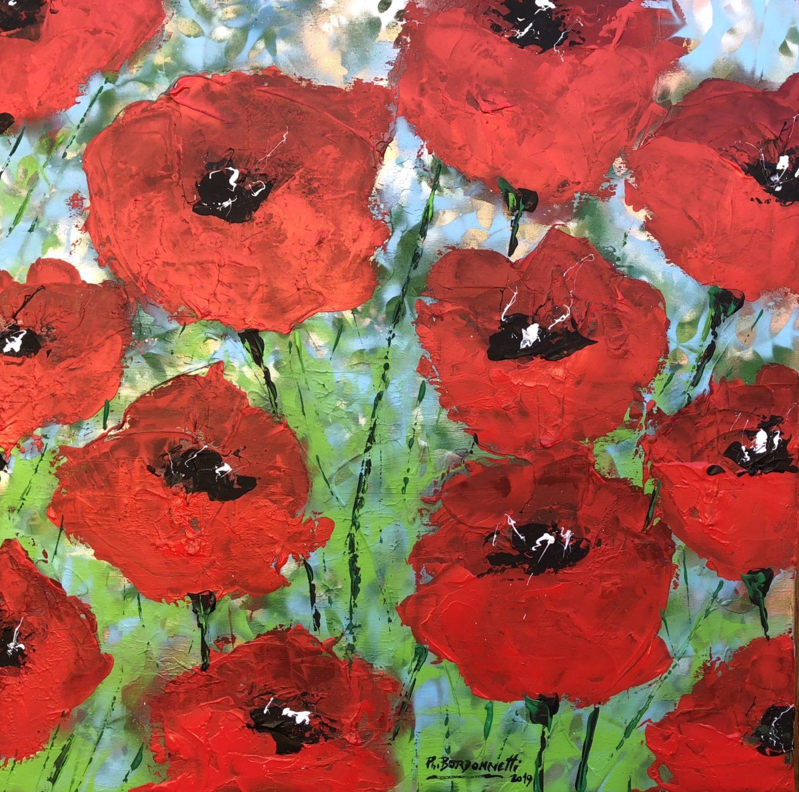 Wild Poppies 1 von Philippe Bordonnet