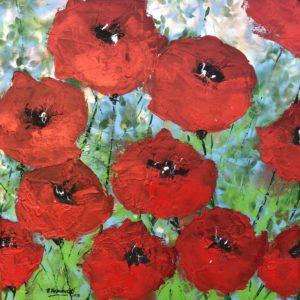 Wild Poppies 2 von Philippe Bordonnet