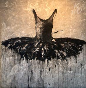 """Black aus der Serie """"Dresses"""" von Ewa Bathelier"""