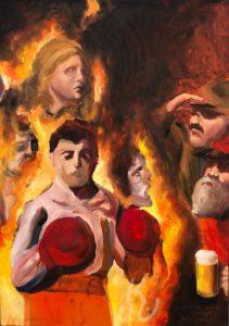 Dante und Virgil N.1 von Jonas Mosbacher