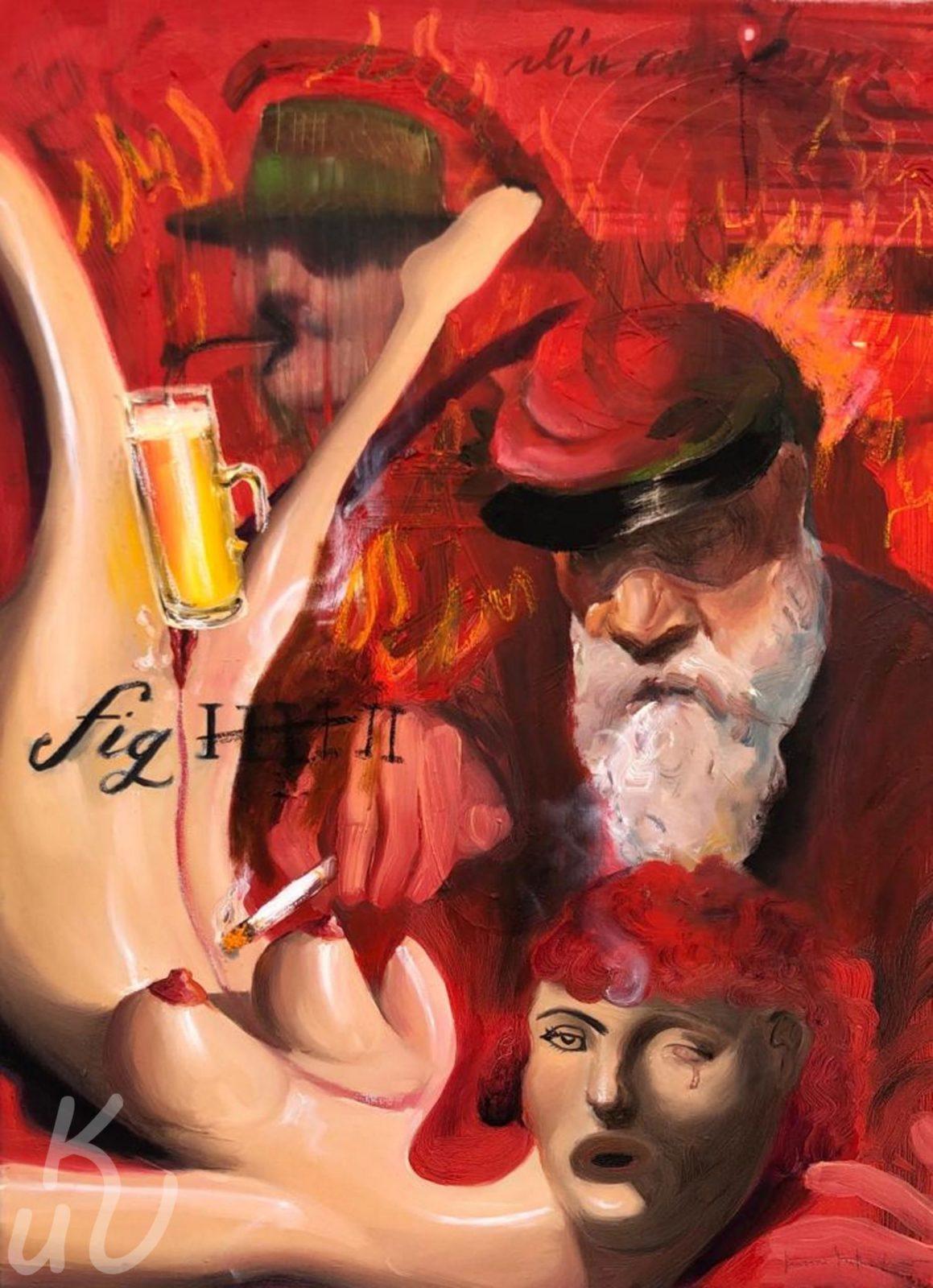 Dante und Virgil N.2 von Jonas Mosbacher