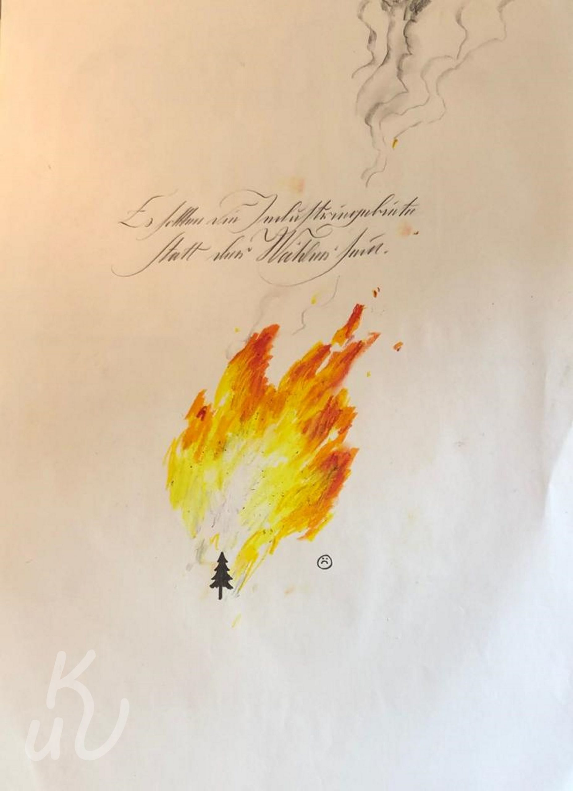 Feuer von Jonas Mosbacher