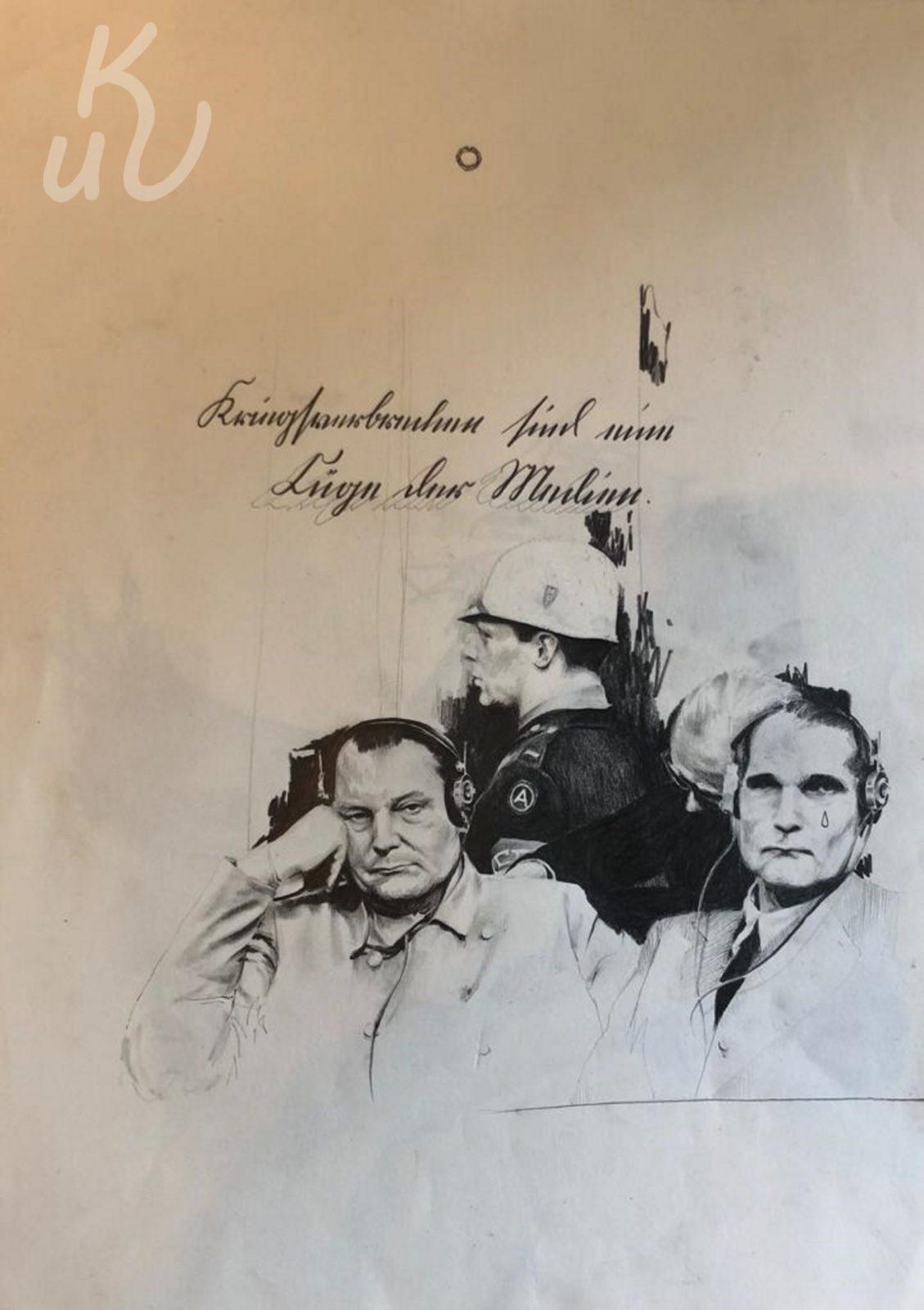 Kriegsverbrecher Nürnberg von Jonas Mosbacher