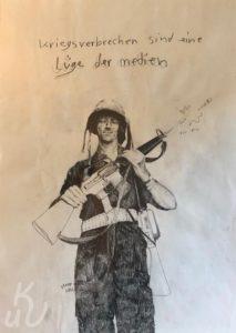Kriegsverbrecher Soldier Boy von Jonas Mosbacher