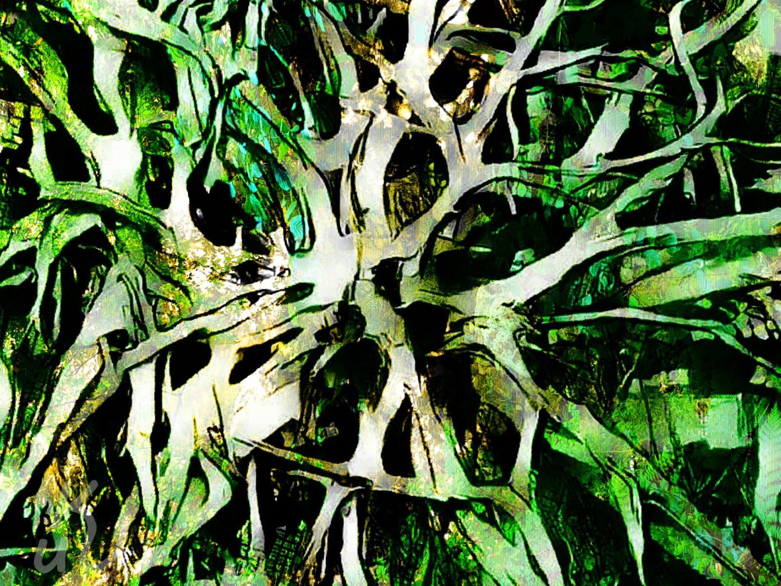 Waldgeist von Silke Lotta Gonzalez Leon