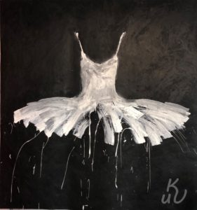 """White aus der Serie """"Dresses"""" von Ewa Bathelier"""