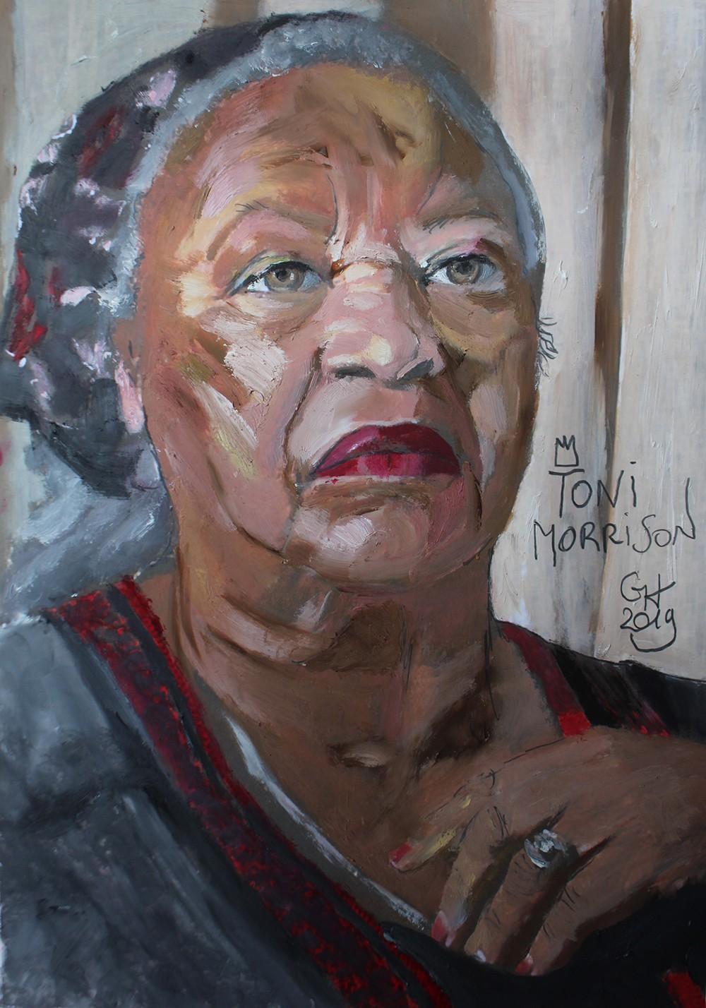 11. Toni Morrison - Grégory Huck