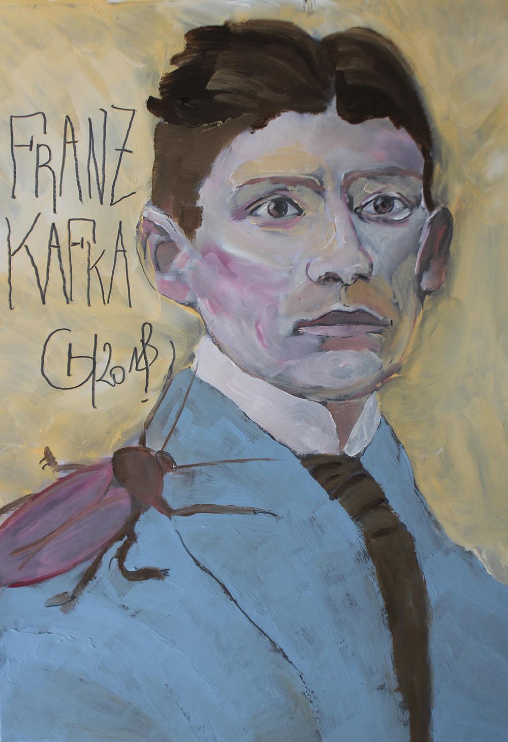 6. Franz Kafka - Grégory Huck