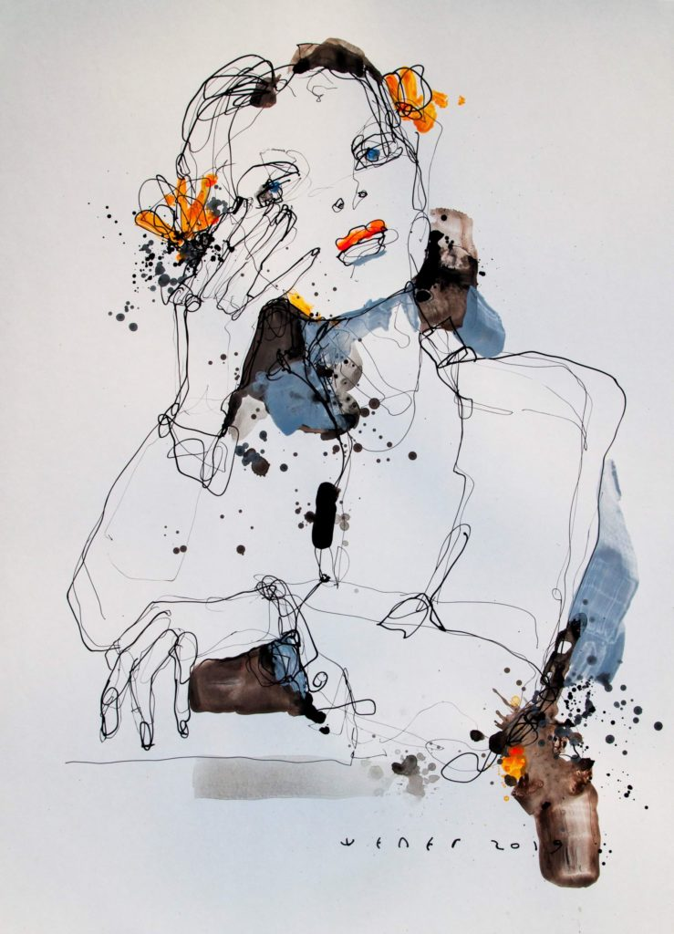 Lady 4 von Victor Sheleg