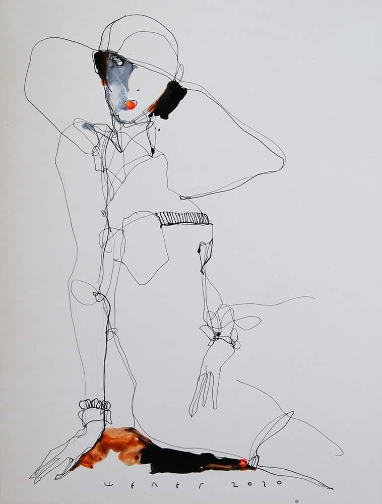 Lady 5 von Victor Sheleg