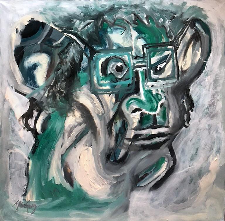 Green Mean - Homme Vert von Julien Cuny