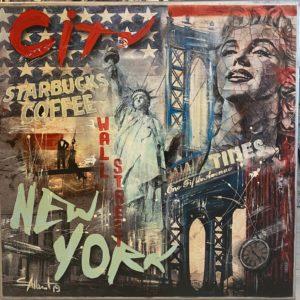 New York von Simone Albert