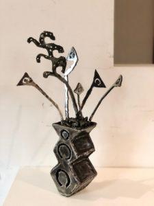 Vase et Fleurs von Julien Cuny
