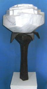Weiße Rose von Bernd Warkentin