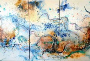 Blue Motion II von Petra Heck