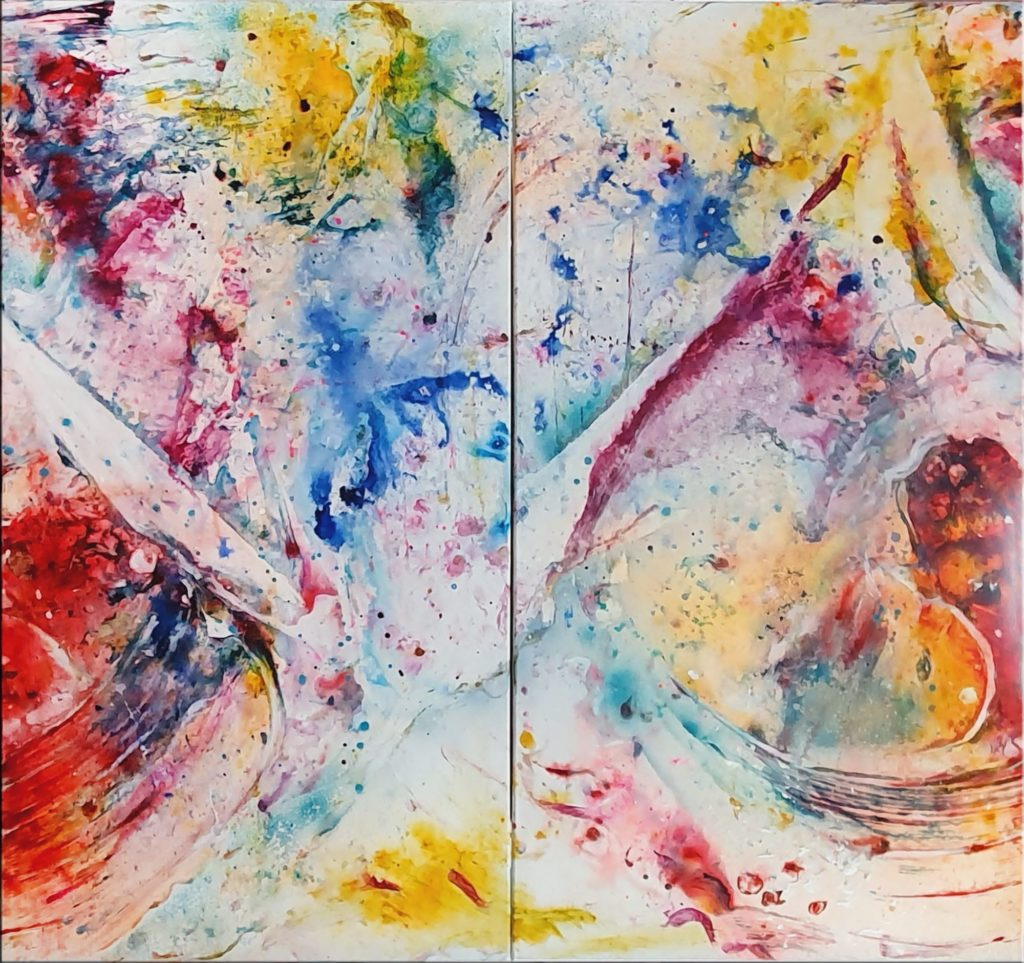 Rainbow Colors V von Petra Heck