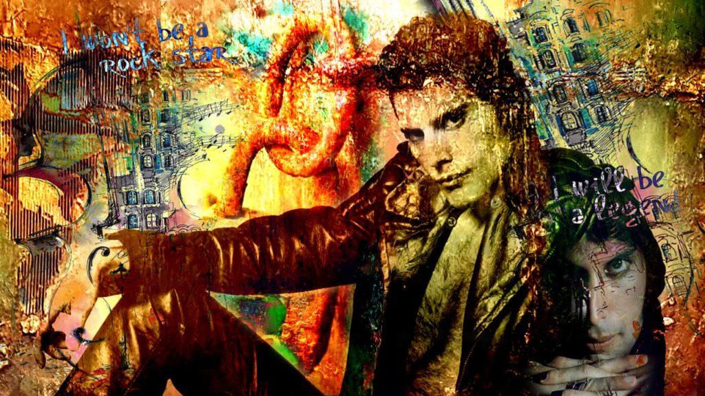 Freddie Mercury von Adelia Clavien