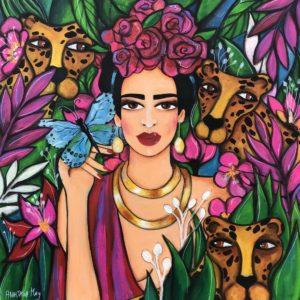 Frida mit Freunden von Anastasia May
