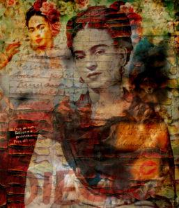 Frida Kahlo – Entera o a Pedazos III von Adelia Clavien
