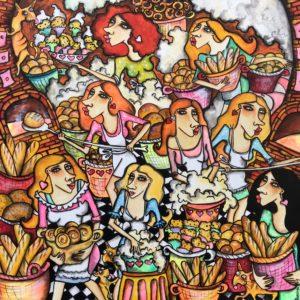 Frisches Brot von Anastasia May
