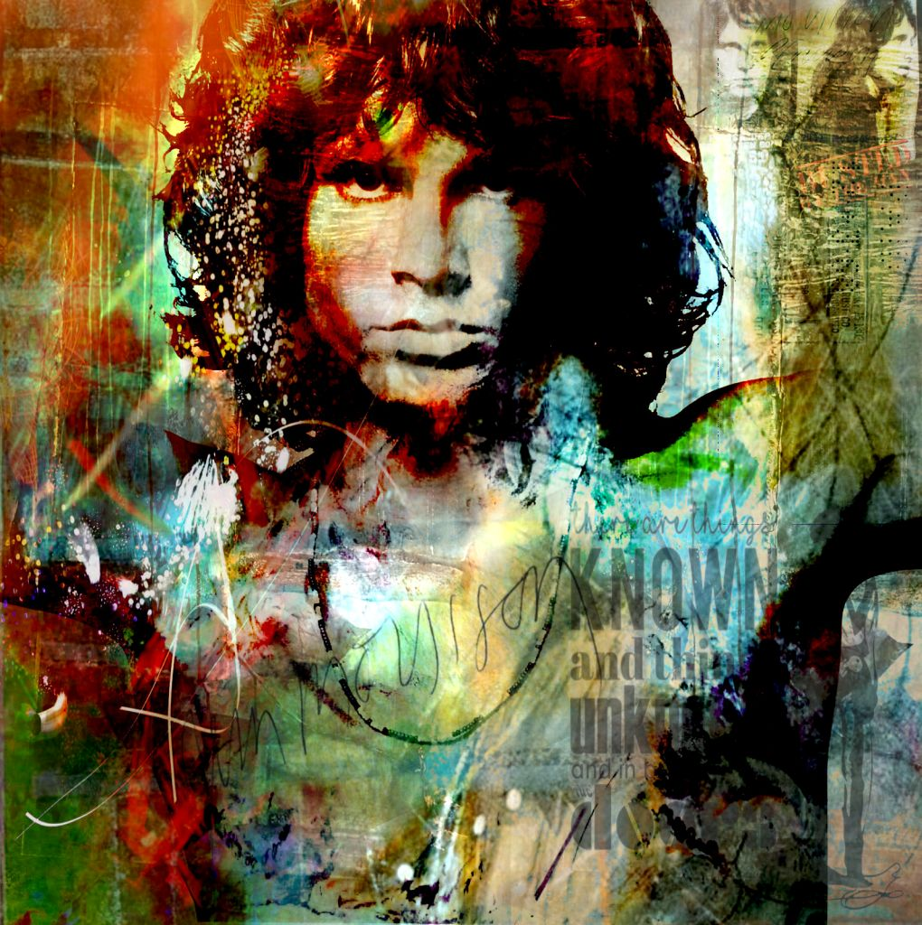 Jim Morrison_Doors_XVI von Adelia Clavien