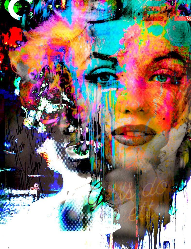 Marilyn Forever Fashion von Adelia Clavien