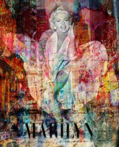 Marilyn Mythique von Adelia Clavien