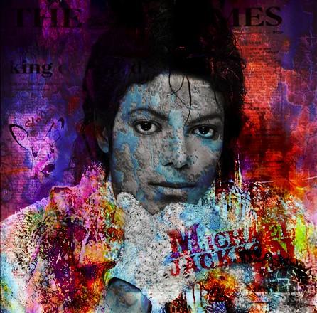 Michael Jackson V von Adelia Clavien