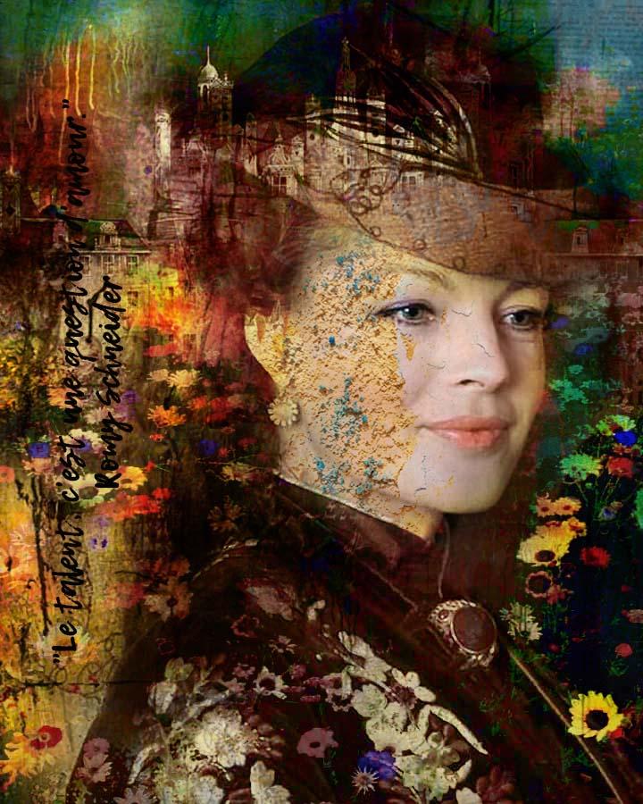Romy Schneider the beautiful von Adelia Clavien