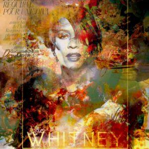 Withney Houston II von Adelia Clavien