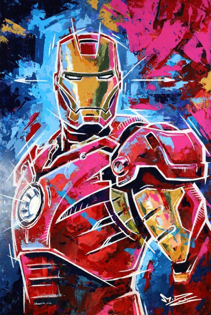 Iron Man von Marco Giuliano Deusing