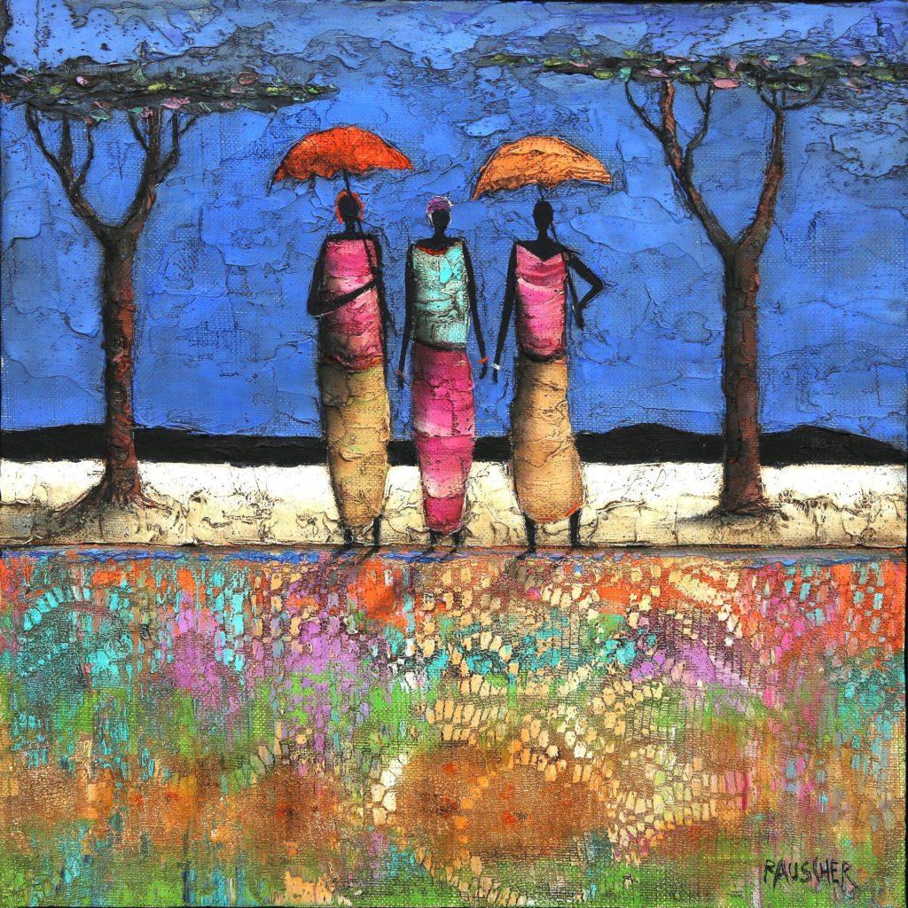 Le tapis fleuri von Michel Rauscher